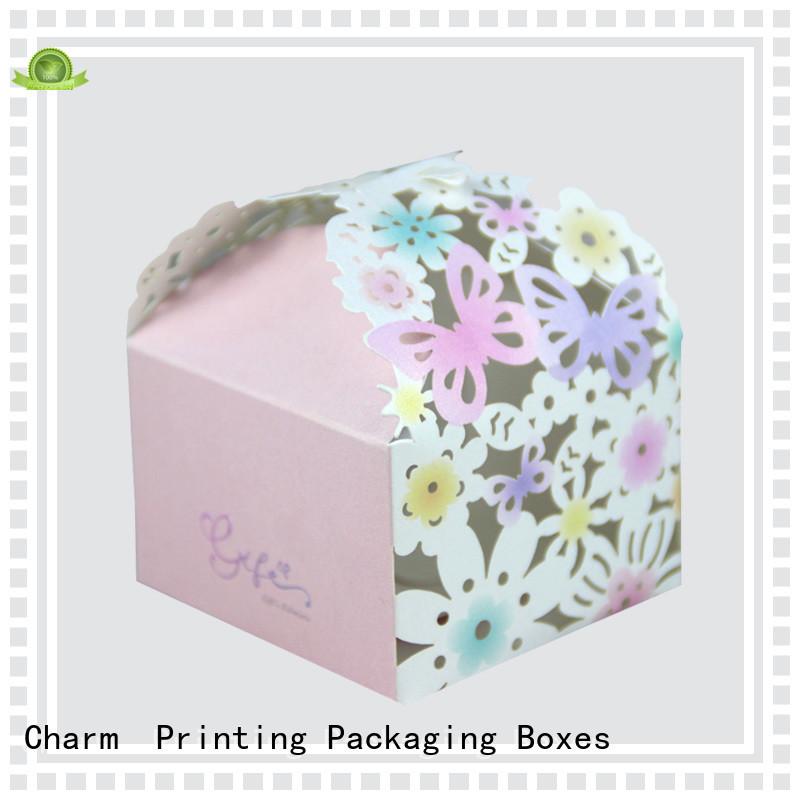 CharmPrinting art paper wedding packaging bulk production for wedding packaging