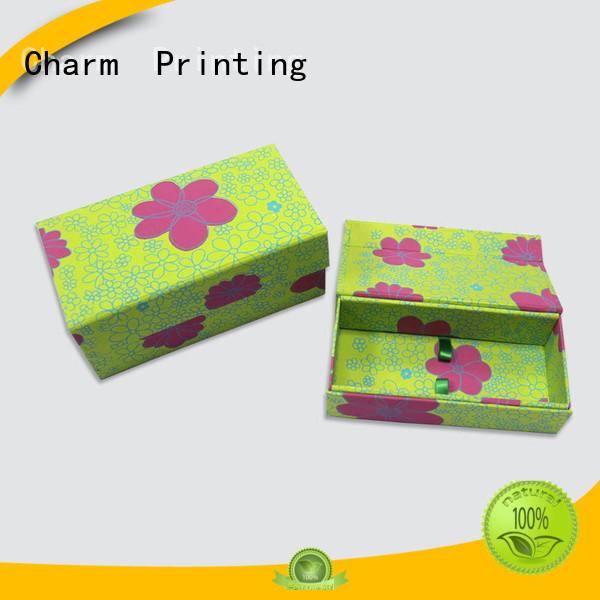CharmPrinting magnet gift box gift box OEM for festival packaging