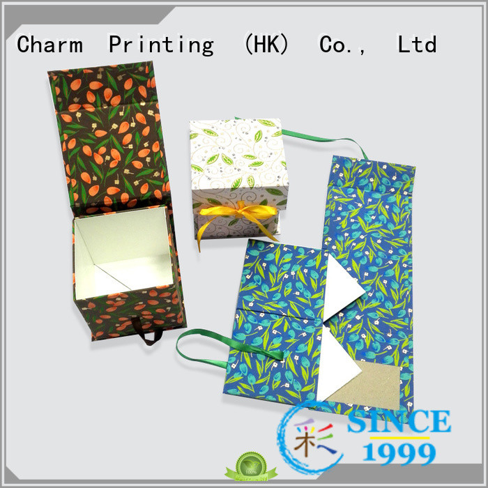 Charm Printing packaging boxes factory price for gifts