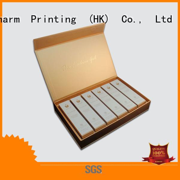 CharmPrinting handmade cosmetic packaging uv printing gift package