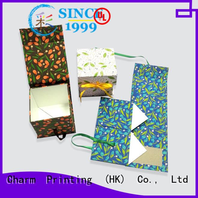 CharmPrinting gift box OEM for packaging