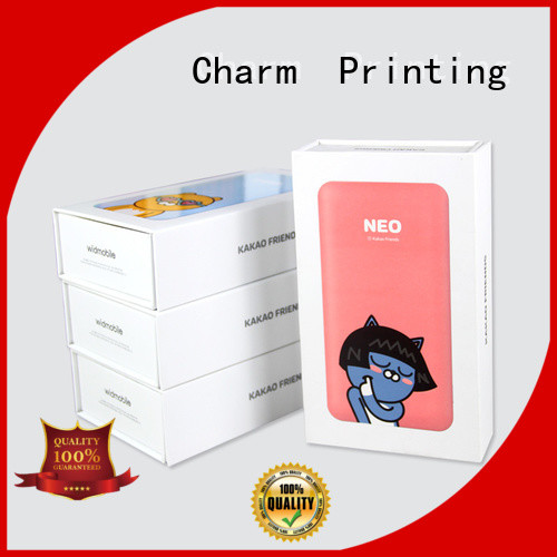 CharmPrinting professional design electronics packaging colorful for electronic produts