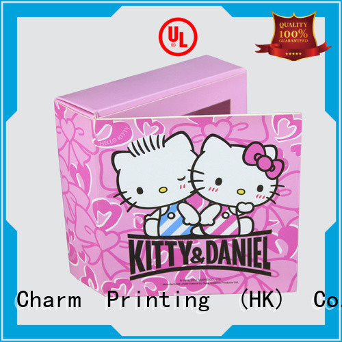 Charm Printing chocolate box automatic slide luxury box