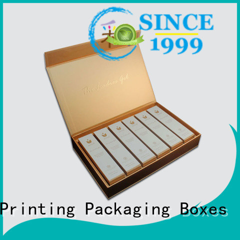 Charm Printing handmade cosmetic box uv printing gift package
