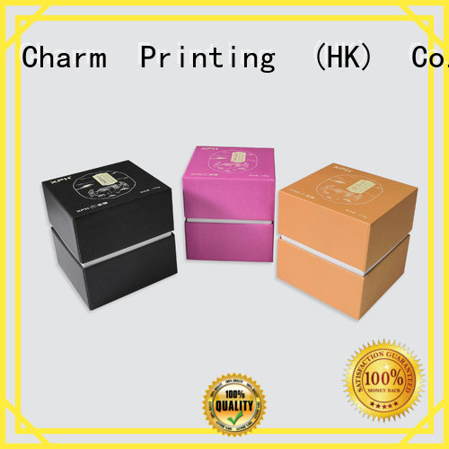 Charm Printing carboard paper gift box base box health care product