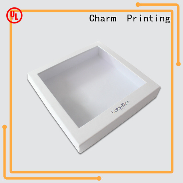 manufacturer apparel packaging boxes white paperboard for apparel
