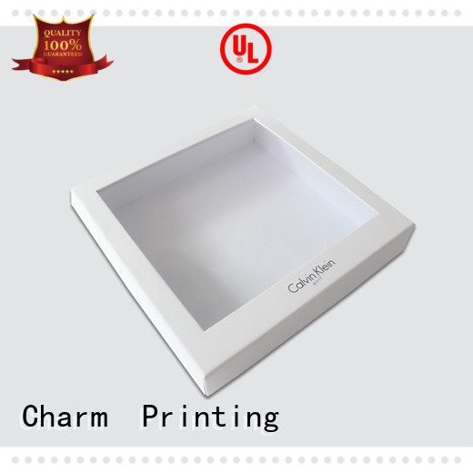 CharmPrinting manufacturer cardboard gift boxes special-shape box for apparel