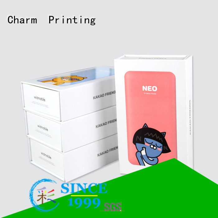 Charm Printing packaging box craft paper for electronic produts