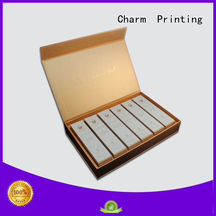 CharmPrinting handmade cosmetic box uv printing storage