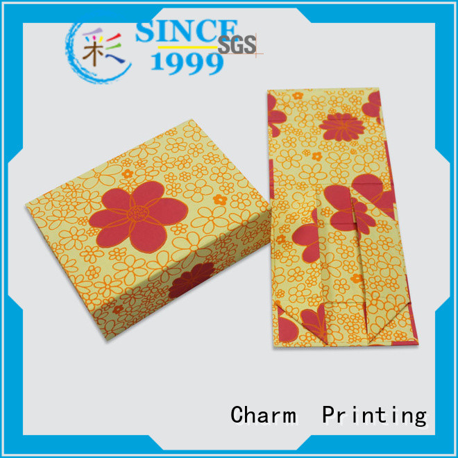 Charm Printing custom magnet gift box factory price for festival packaging