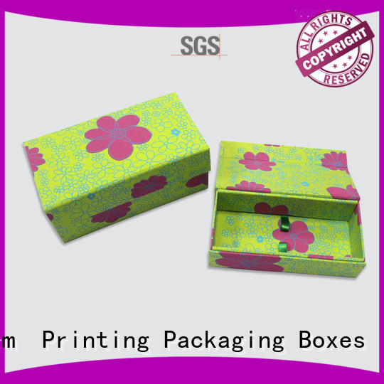 CharmPrinting book shape type gift box factory price for gifts