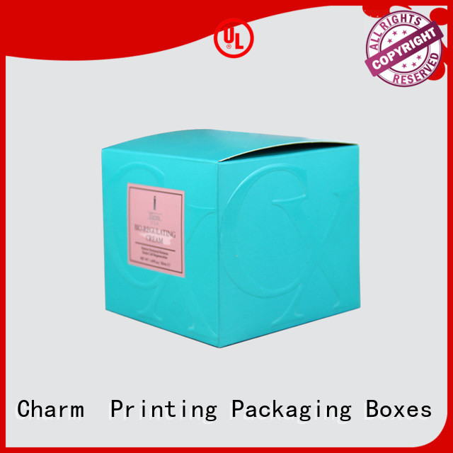CharmPrinting personalized cosmetic boxes high quality Shop Promotion