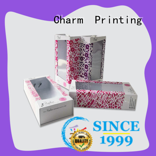 Charm Printing carboard cardboard gift boxes bulk production health care product