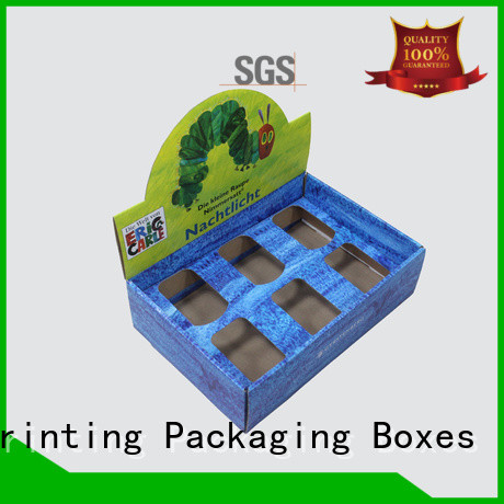 Custom Design Print Paper Display Carton Box Corrugated Box