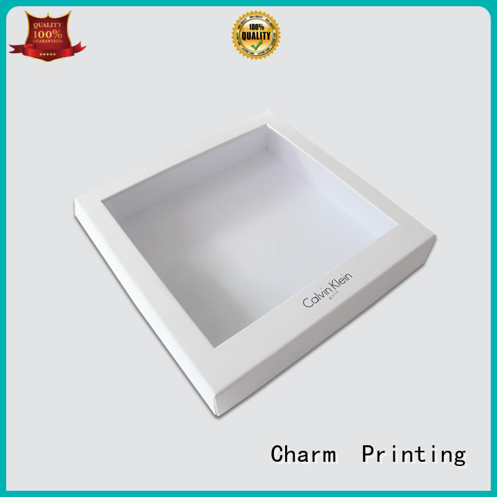 CharmPrinting apparel packaging boxes handmade for apparel