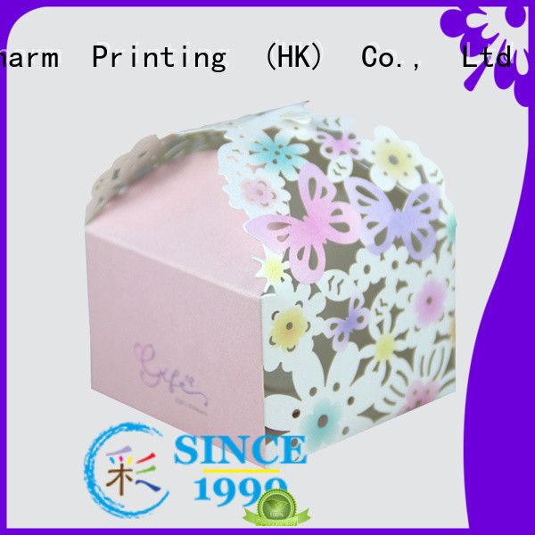 CharmPrinting art paper favor boxes creative design for gift