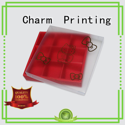 Charm Printing luxury chocolate packaging thick gift box
