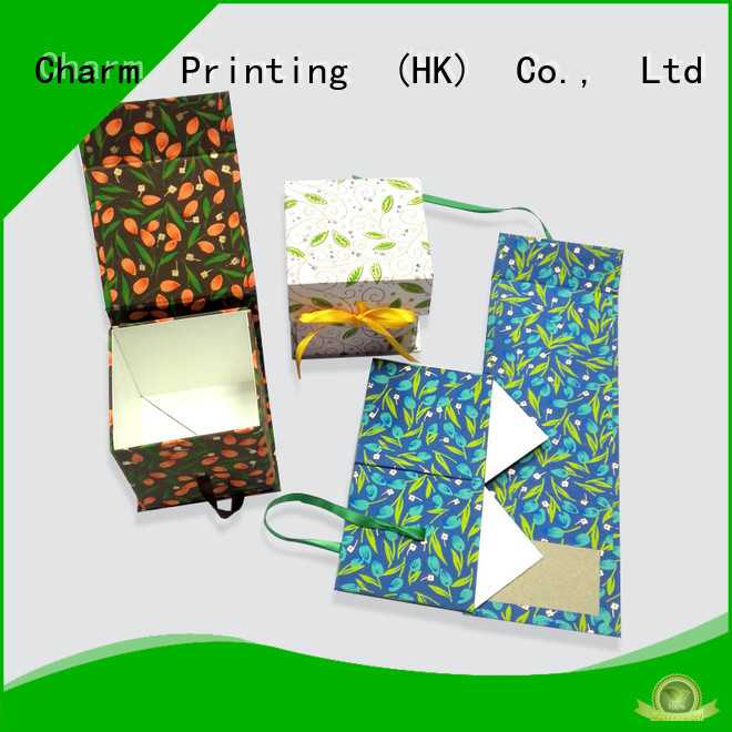 Charm Printing book shape type magnet gift box manufacturer for packaging