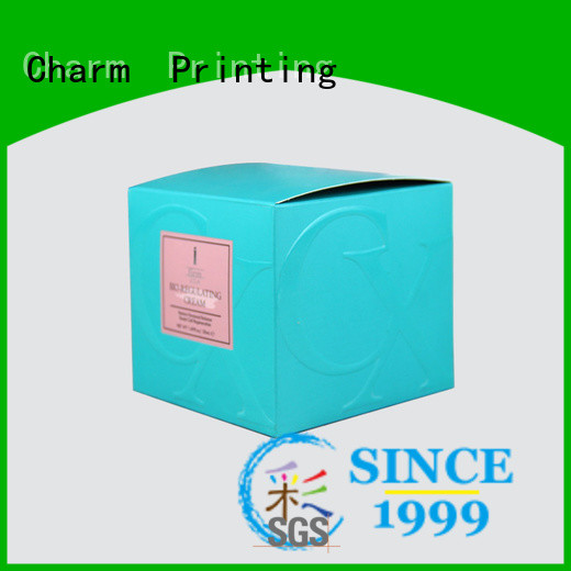 Charm Printing coloful cosmetic packaging offset printing storage