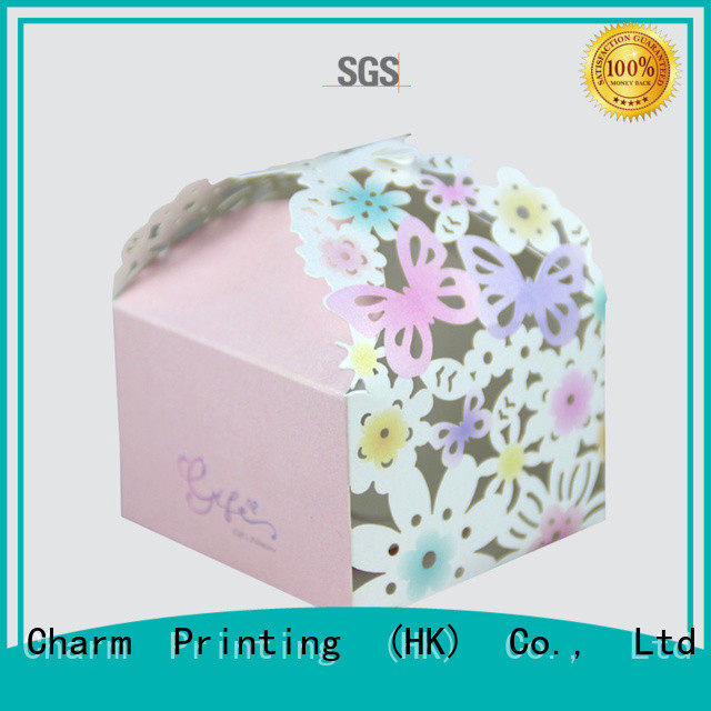 CharmPrinting favor boxes for wholesale for gift