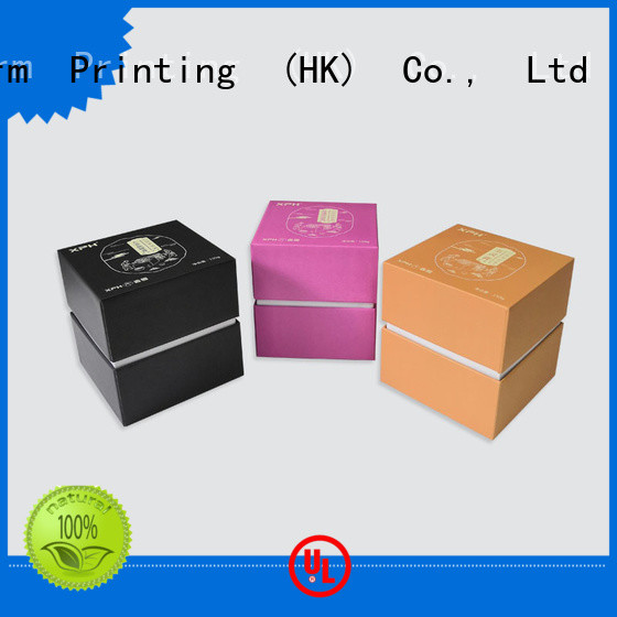 Cardboard Paper Gift Lid And Base Box for Health Care Products