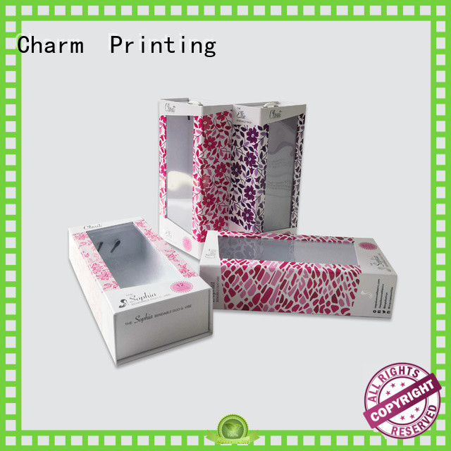 Charm Printing paper gift box health care product