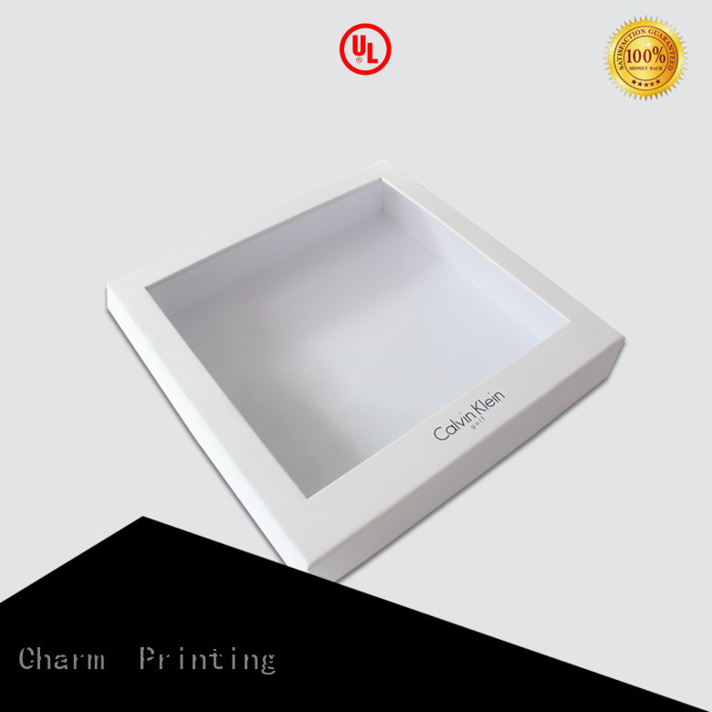 high quality clothing packaging boxes handmade for clothes