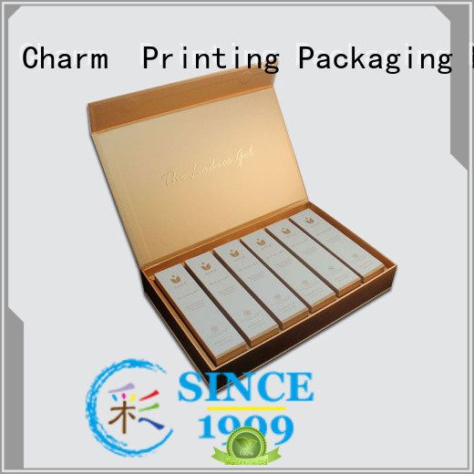 handmade cosmetic packaging box offset printing gift package