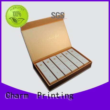 CharmPrinting customized lip balm display box storage