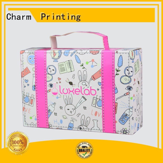 CharmPrinting cosmetic box offset printing gift package