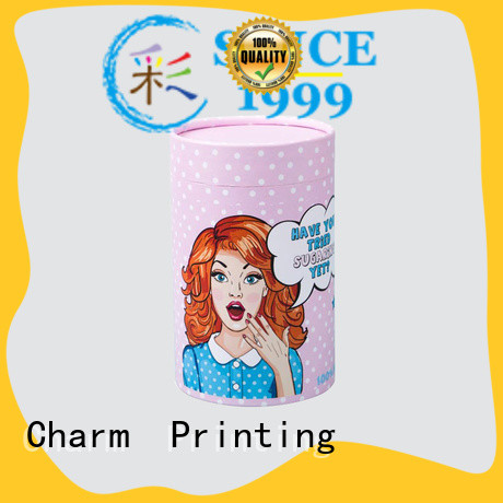 CharmPrinting cardboard gift boxes for apparel