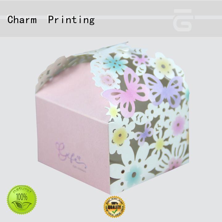 custom wedding favor gift box bulk production for gift CharmPrinting