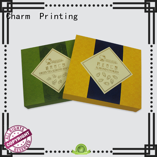 Charm Printing food packaging boxes handmade for gift