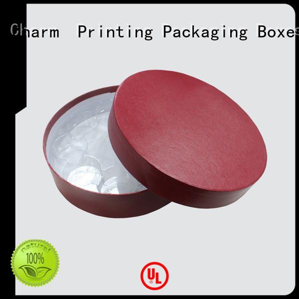 Luxury matte cylinder gift food box