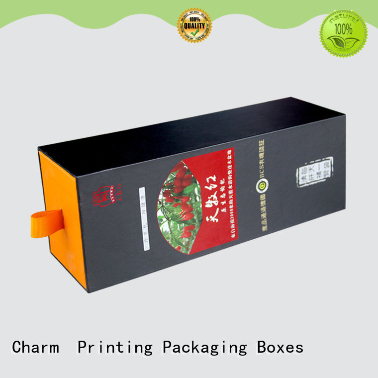 Charm Printing custom pillow box high quality for food box