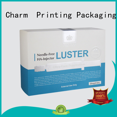 customized cosmetic packaging offset printing shop promotion