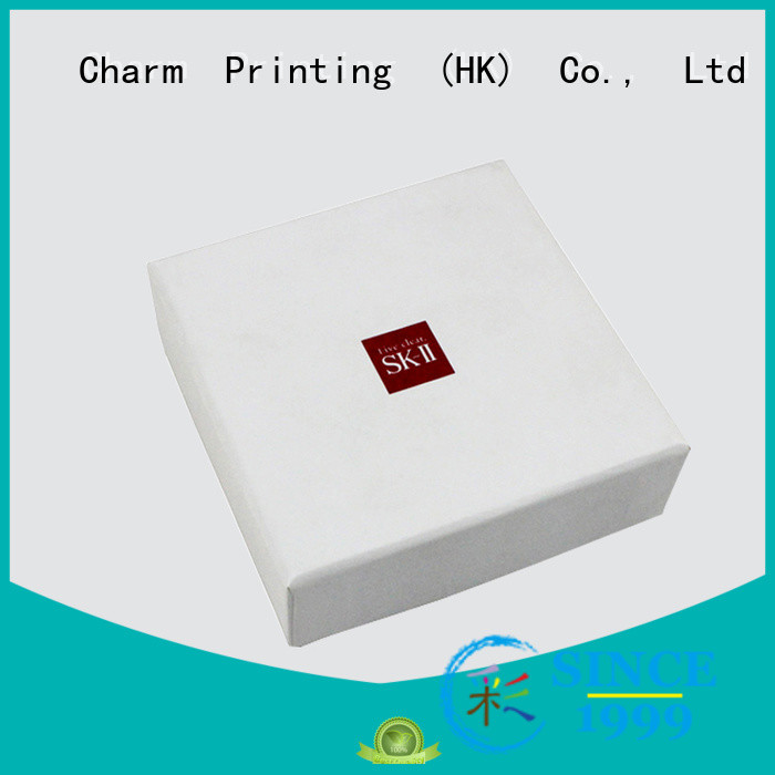 CharmPrinting handmade cosmetic box uv printing shop promotion