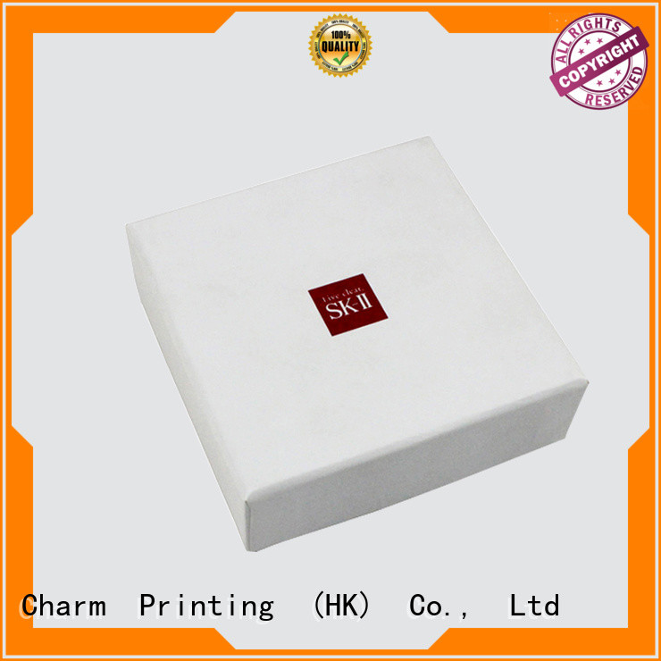 cosmetic delivery box high quality Gift Package Charm Printing