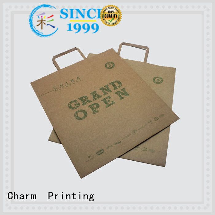 Charm Printing paper gift bags latest for gift box