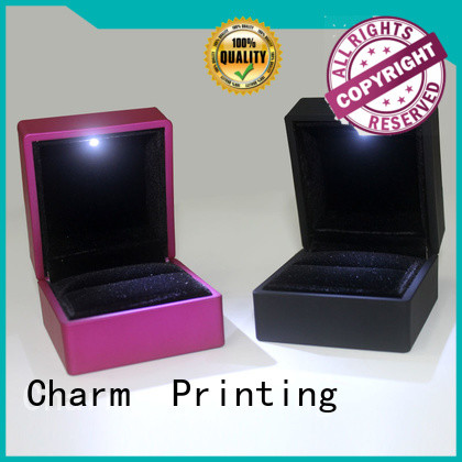 Charm Printing with tray jewelry packaging box luxury design for gift box