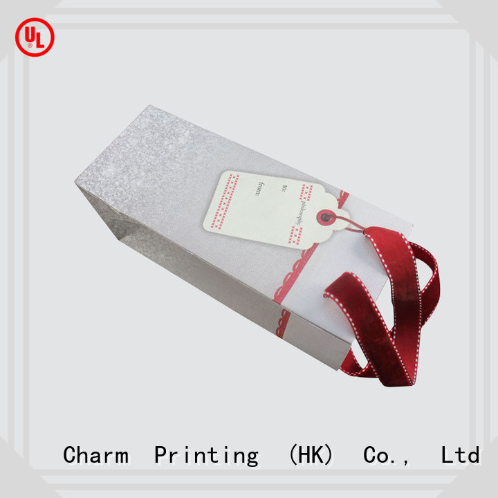 CharmPrinting high-quality paper shopping bags on-sale for shopping bag