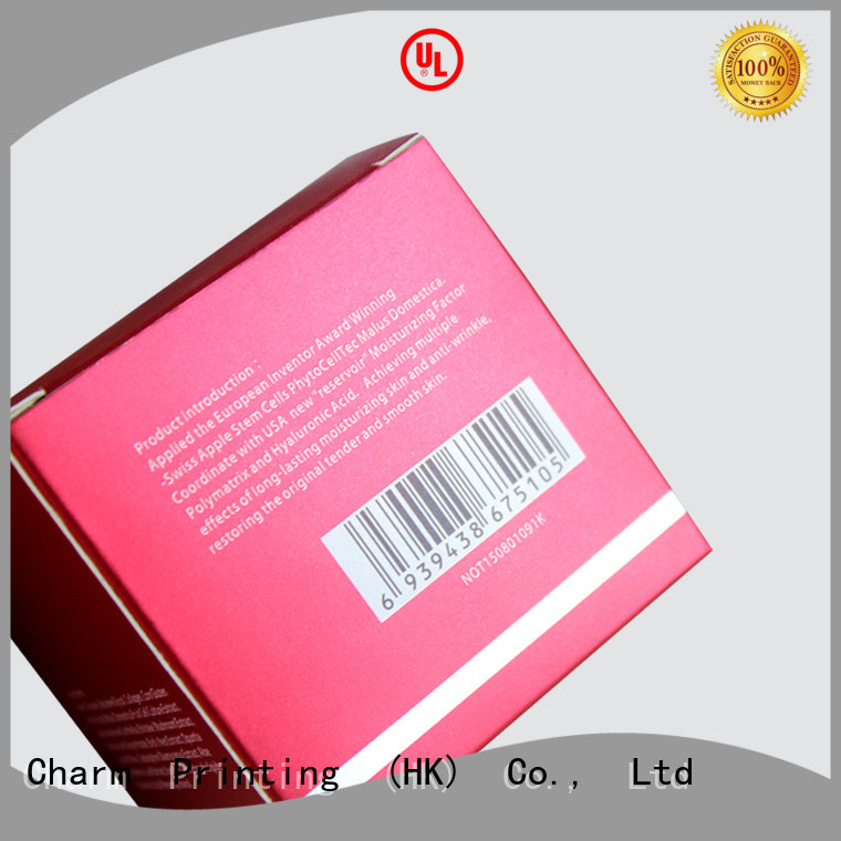 customized cosmetic packaging uv printing shop promotion