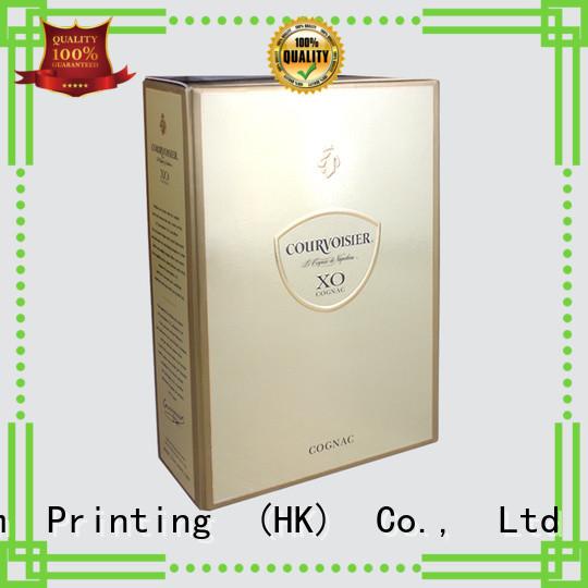 CharmPrinting wine gift box luxury design food packaging