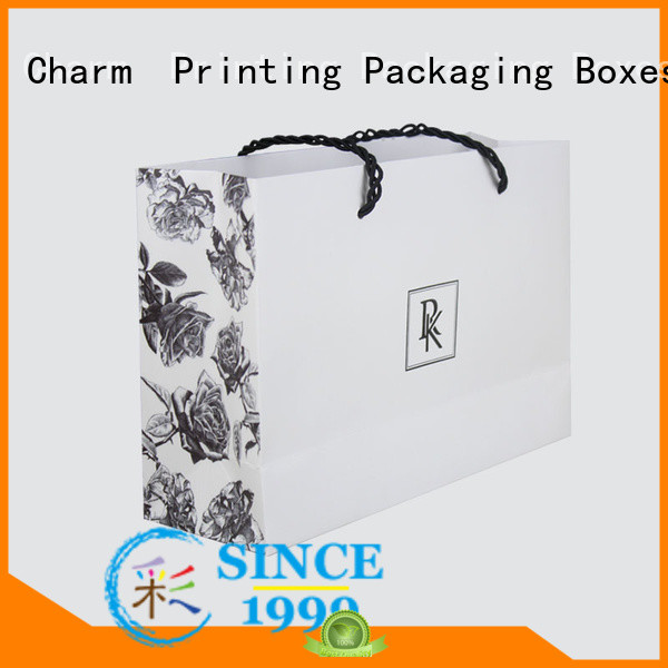 Charm Printing paper shopping bags latest for shopping bag