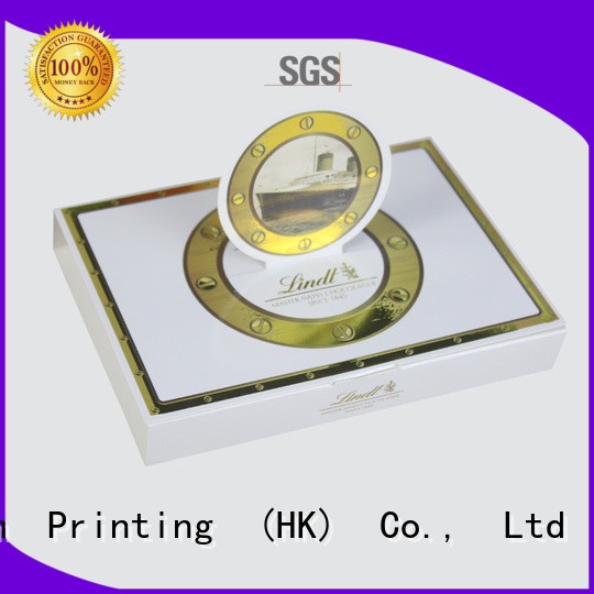 Charm Printing book shape chocolate packaging thick for chocolate box