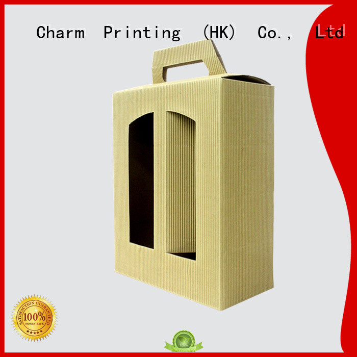 paper wine gift boxes luxury design Wine packaging CharmPrinting