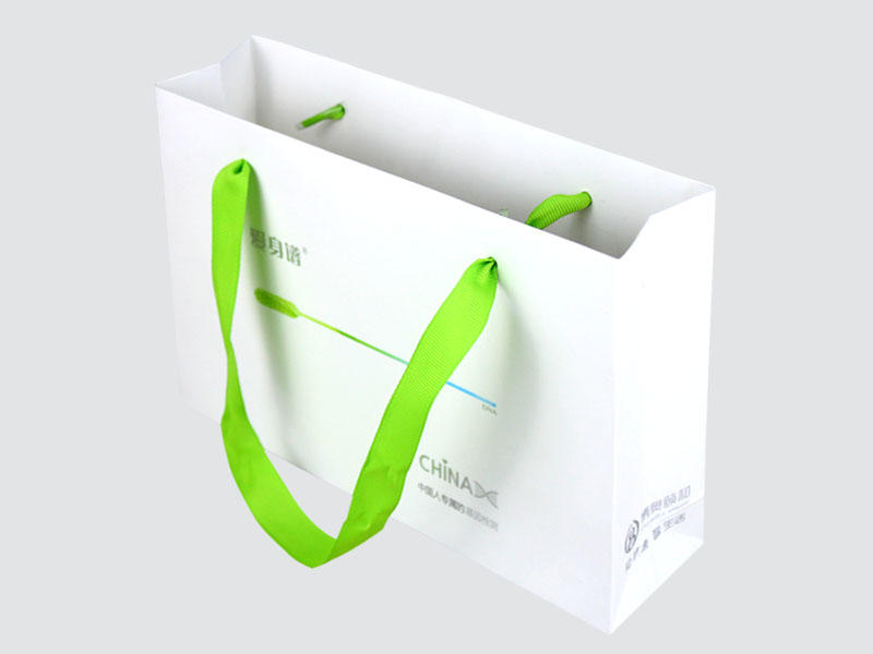 paper bags with handles on-sale for gift box Charm Printing-1