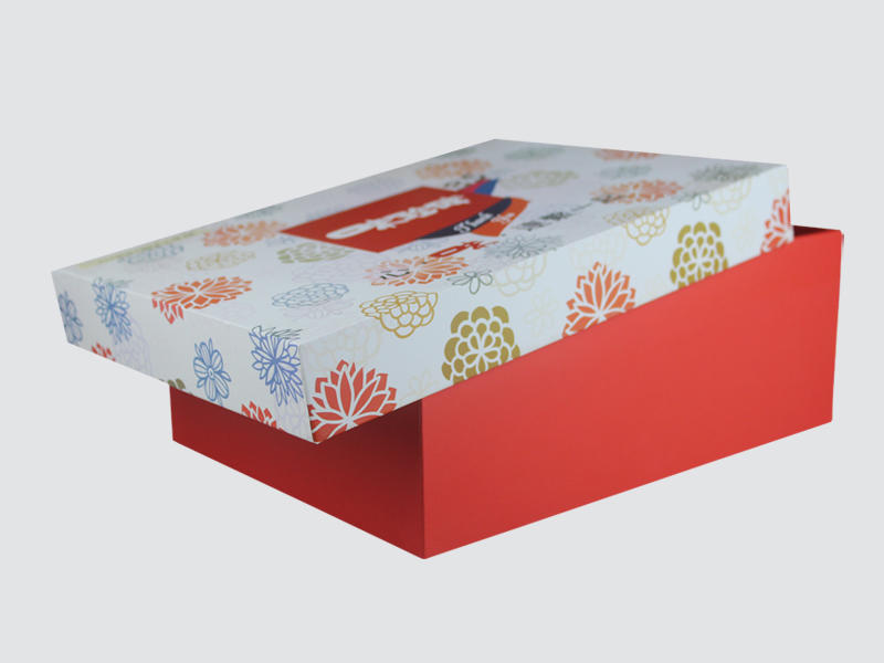 Charm Printing with tray pillow box handmade for food packaging-1
