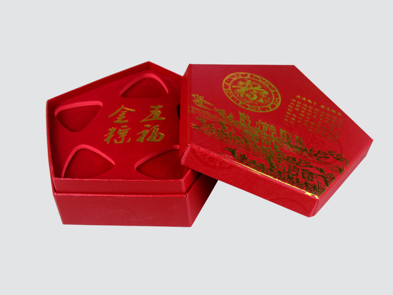 book shape jewelry packaging box factory price for luxury box