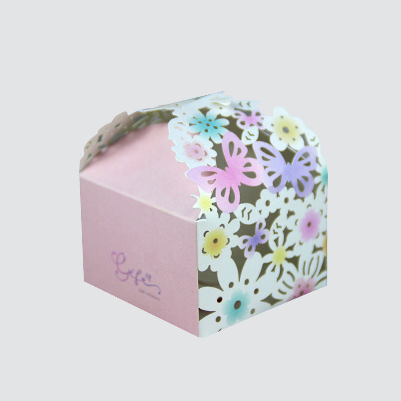 Charm Printing art paper favor boxes creative design for gift